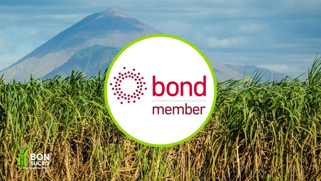 bond logo on sugarcane